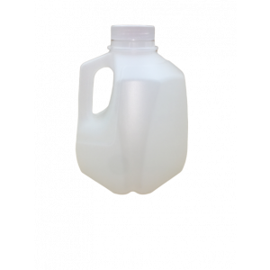 32oz Squat Quarts HDPE Screw Top Jug Assembled w/38-400 PP F217 Cap (162/cs)