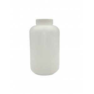 120mL HDPE Natural W/38-400 F217 cap W/ 1mL 1:1 H2SO4 (Sulfuric Acid), Certified & BarCoded Labels (24/cs)