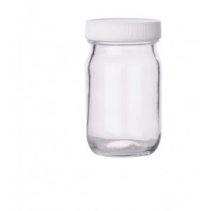 125mL Clear Tall WM Bottle, Certified (12/cs)