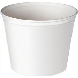 165oz White Paper Bucket (100/pk)