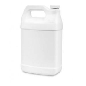 1 Gallon White F-Style Jug Assembled w/38-400 F217 Cap (36/cs)