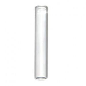200uL Clear Glass Insert, Flat Bottom, 5 x 31mm (100/pk)