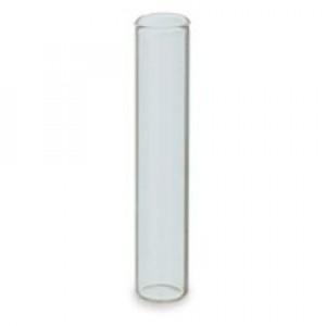 350uL Clear Glass Insert, Flat bottom,6 x 31mm (100/pk)