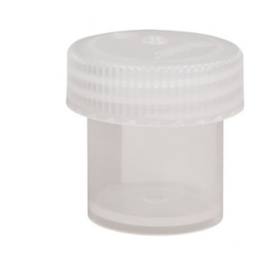 30mL Wide Mouth PPCO Straight Sided Jar, 43mm PP Screw Thread Closure (72/cs)