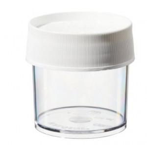 125mL Wide Mouth PPCO Straight Sided Jar, 70mm PP Screw Thread Closure (36/cs)