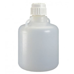 12L PP Heavy Duty Vacuum Carboy, TPE Gasketed PP Screw Thread Closure (6/cs)