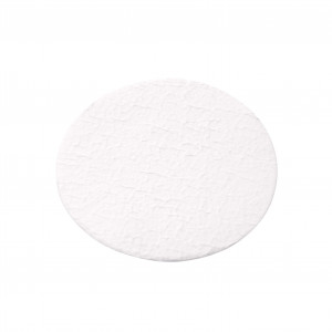 Glass Fiber Filter Disk, Prefilter, Binder Free, 1.0µm, 70mm, Sterile (50/cs)