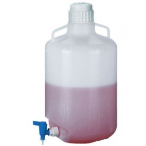 50L Autoclavable PP Carboy, Spigot, 83B Screw Thread Closure (ea)