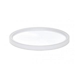 L10 Flush White PE Lid (100/cs)