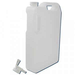 5 Liter Space Saver HDPE container w/Faucet (12/cs)