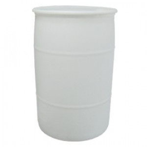 55gal Nat Poly Tighthead UN Drum, 1-piece