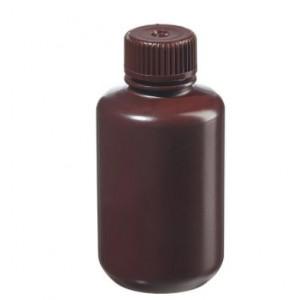 125mL Narrow Mouth Opaque Amber HDPE Bottle, 24-415 Amber PP Screw Thread Closure {Packaging Grade} (500/cs)