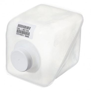 1 gallon LDPE Cubitainer 38/400 PP F217 Cap {Certified} Bar Coded, Labels (12/cs)
