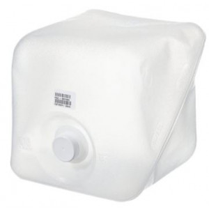2.5 gallon LDPE Cubitainer 38/400 PP F217 Cap {Certified} Bar Coded, Labels (12/cs)