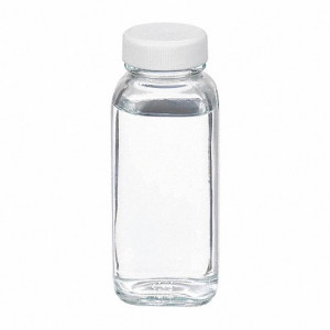4oz Clear French Square Assembled w/33-400 PTFE Lined Cap (120/cs)