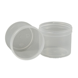 4oz Clarified PP Straight Sided Jar Assembled with 70-400 F-217 Lined Cap (528/cs)