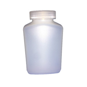 500ml SMART Natural HDPE Leakproof Oblong Bottle, Assembled w/53-415 Linerless Cap (150/cs)