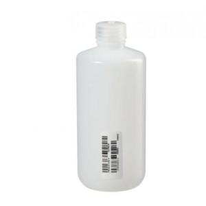 500mL Nalge Natural HDPE Narrow Mouth Bottle {Certified} (48/cs)