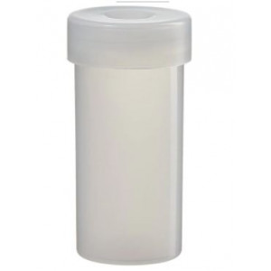 18mL Nalgene LDPE Sample Vial with Closure (144/cs)