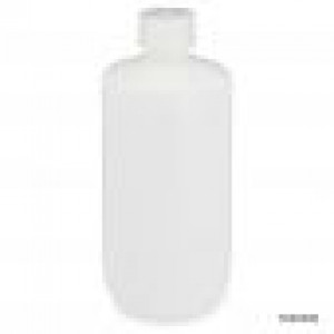 500ml Narrow Mouth Bottle, HDPE w/ PP 28-415 Closure, 500mL, Bulk Packed w/ Bottles & Caps Bagged Separately, 125/Case