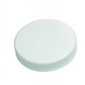 Screw Closure PP 100 mm Nalgene; Leakproof; Autoclavable;  Polypropylene; White; Case of 12