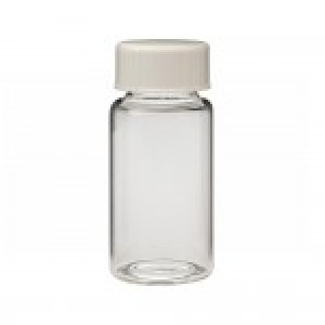 20mL Borosilicate Glass Scintillation Vial w/ 20-400 White Urea Foil Lined Cap (500/cs)