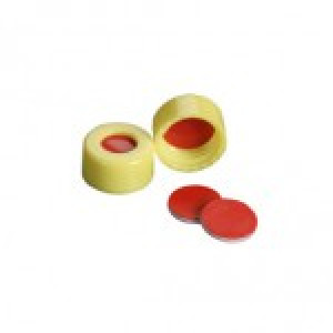 9mm AVCS Yellow Target DP Cap & TST Septa (100/pk)