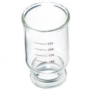 Filter Funnel, 300mL, 47mm Base, Graduated (ea)