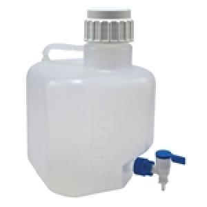 Azlon Autoclavable Carboys, PP  Carboy PP with Stopcock, 10L (qty 1)
