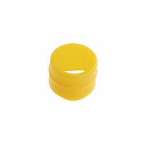 Cap Insert for NEW CryoCLEAR vials, Yellow, 100/Bag