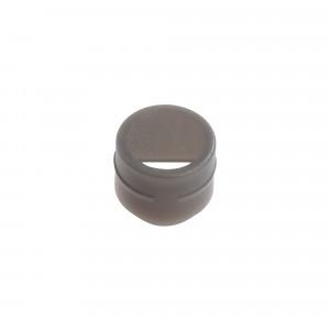 Cap Insert for NEW CryoCLEAR vials, Gray, 100/Bag