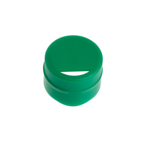 Cap Insert for NEW CryoCLEAR vials, Green, 100/Bag