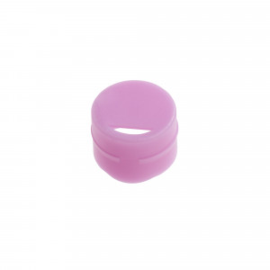 Cap Insert for NEW CryoCLEAR vials, Violet, 100/Bag