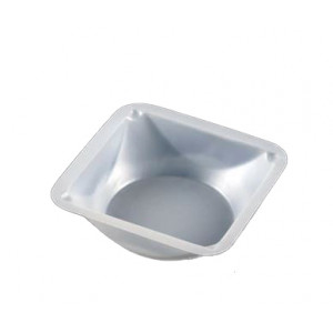 Weighing Dish, Plastic, Square, Antistatic, 20mL, 41 x 41 x 8mm, PS, 500/Unit