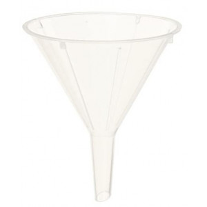 Funnel, 65mm, PS (uses 12.5cm filter paper), 100/Unit
