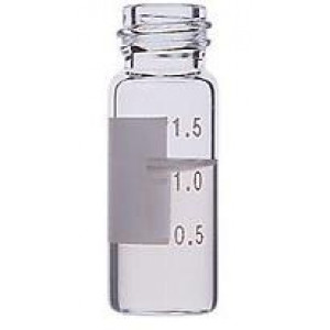 2mL Clear Screw Thread Vial w/Numbered Marking ID Patch {12x32mm} {100/pk}