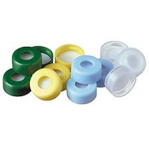 11mm clear snap cap w/PTFE septa (100pk)