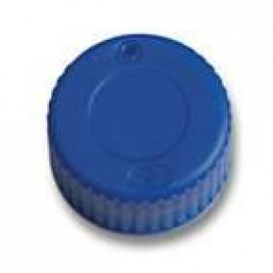 9-425 Solid Top PP Cap with PTFE/Silicone Liner (100 per pack)
