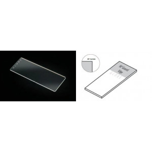 Microscope Slides, Glass, 25 x 75mm, 90° Ground Edges, Plain, 72/Box, 2 Boxes/Case (1 Gross)