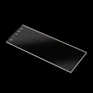 Microscope Slides, Glass, 25 x 75mm, 45° Beveled Edges, Clipped Corners, Frosted, 1 End, Both Sides, 72/Box, 2 Boxes/Case (1 Gross)