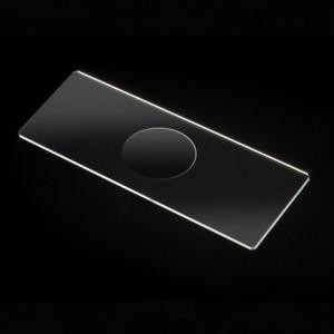 Microscope Slides, Glass, 25 x 75mm, 90° Ground Edges with Safety Corners, Single Cavity, 72/Box