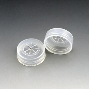 Cap, Snap, PE, with Pierceable Cross Cut, for Sample Cups: 110021, 110610, 110621 & 110711, 1000/Unit