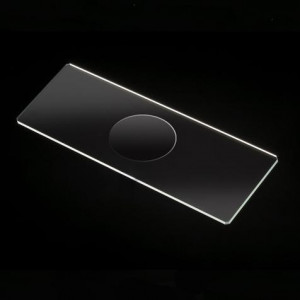 Microscope Slides, Glass, 25 x 75mm, 90° Ground Edges with Safety Corners, Single Cavity, 72/Box, 20 Boxes/Case (10 Gross)
