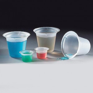 Beaker, Disposable, 1000mL, PS, 100/Unit