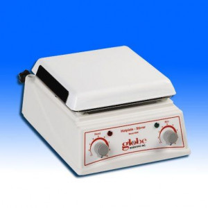 Hotplate Stirrer, 185mm x 185mm Platform, 115V