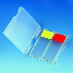 Slide Mailer, Polypropylene, for 2 Slides, Natural, 100/Box, 10 Boxes/Unit