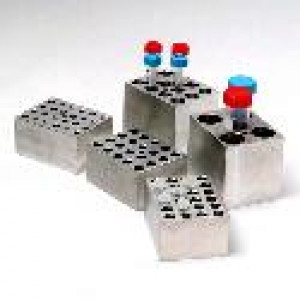 Accessory for Digital Dry Bath: Block for 15mm or 16mm Test Tubes, 12-Place