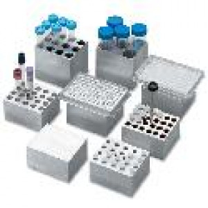 Accessory for Digital Dry Bath: Block for PCR plate 96 x 0.2ml, skirted or non-skirted For 1-block dry bath only