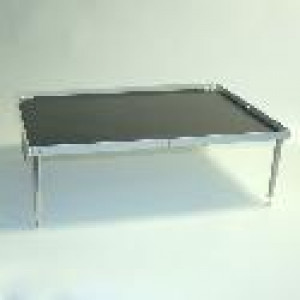 "Accessory for Nutating Mixer and Blot Mixer: Stackable Platform with Flat Mat, 10.5"" x 7.5"""