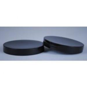 100-400 BLACK PP F-217 FOAM LINED CAP (256cs)